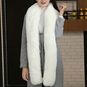 Accessories - 3/$30 Faux Fur Collar Stole, Long Scarf, Shawl
